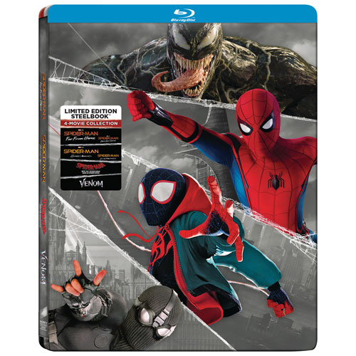 Spider-Man 4-Movie Collection - Only at Best Buy